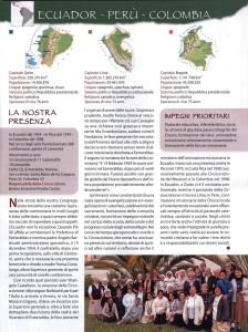 La Provincia religiosa in cui opera Madre Camilla Andreatta