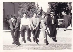 Sergio Andreatta e Renato Leti. Enaoli, Tomba di Nerone,1967.