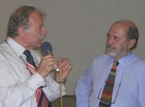 Sergio Andreatta e Stanislao Nievo
