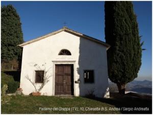 Paderno del Grappa (10), Fietta Alta, Chiesa di S. Andrea