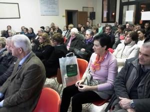 Sergio Andreatta, Paderno del Grappa, pubblico alla presentazione