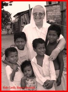 Madre Camilla Andreatta e i suoi ninos di Esmeraldas
