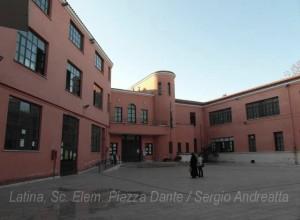 Latina-Scuola-Piazza-Dante-Sergio-Andreatta