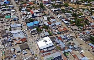 La devastazione per il terremoto