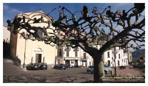 Picinisco, Piazza Capocci
