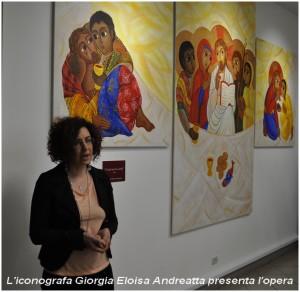 Giorgia-Eloisa Andreatta, presentazione del trittico