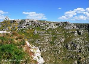 Matera. Grotte dei Sassi Caveosi